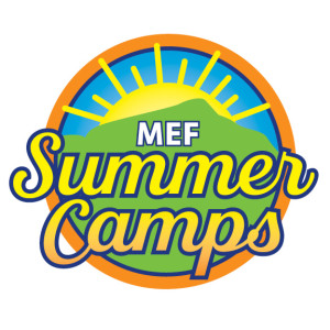 MEF Summer Camps logo '16
