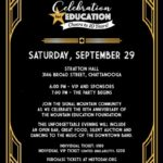 Tickets now available for Celebration for Education: Cheers to 10 Years!